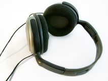 Headphones. Phones Royalty Free Stock Photos