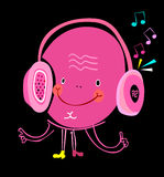 Headphones. Image headphones as a smiley vector illustration