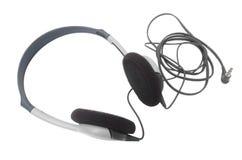 Headphones. Headphones on white background Stock Photo