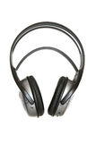 Headphones. Greater headphones without wires on a white background Stock Photo