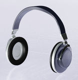 Headphones 3d Royalty Free Stock Photography
