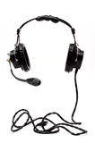 Headphones. With the full cord Royalty Free Stock Photo