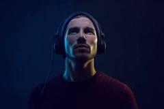 headphones fotografia de stock