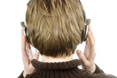 Headphones Royalty Free Stock Photo