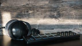 headphones Imagens de Stock
