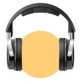 Headphones. Vector illustration of a headphones Stock Photography