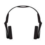 Headphones. Black Headphones royalty free illustration
