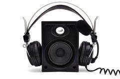 Free Headphones And Speakers Royalty Free Stock Photos - 22024538