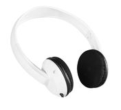 Headphones. Clipping path Stock Images