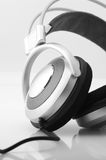 Headphones close-up Royalty Free Stock Photography