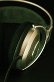 Headphones close-up Royalty Free Stock Image