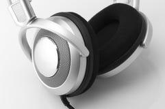 Headphones close-up Stock Photos