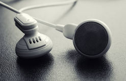 Headphones close up Royalty Free Stock Photo
