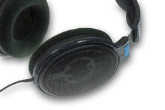 Headphones close up Royalty Free Stock Images