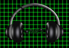 Headphones 4 Royalty Free Stock Image