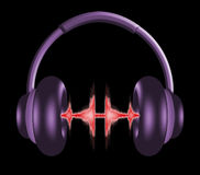 Headphones 1 Royalty Free Stock Photos