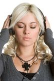 Headphones Girl Royalty Free Stock Photo