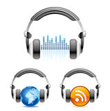 headphones icon Stock Images