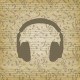 Headphones icon Royalty Free Stock Photos