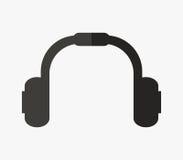 Headphones icon illustrated Stock Photo