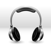 Headphones illustration Stock Photos