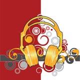 Headphones illustration stock illustration