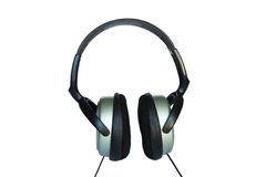 Headphones isolated Royalty Free Stock Photos