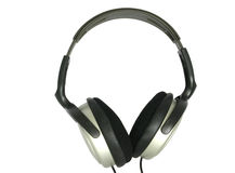 Headphones - isolated #2 royalty free stock photography
