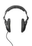 Headphones isolated Stock Image