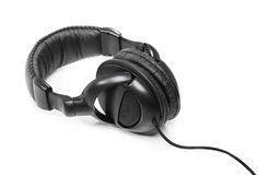 Headphones isolated Royalty Free Stock Image