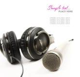 Headphones isolated on white Stock Photo
