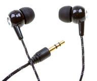 Headphones isolated on white Stock Photography