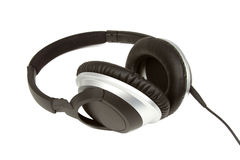 Headphones Isolated on a White Background Stock Image