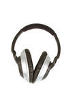 Headphones Isolated on a White Background Royalty Free Stock Images