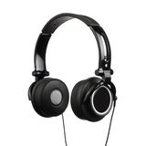 Headphones Isolated on a White Background Stock Photography