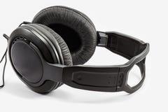 Headphones Isolated on White Background Stock Photography