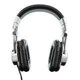 Headphones isolated on white background. Stock Image