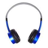 Headphones isolated on white. Stock Image