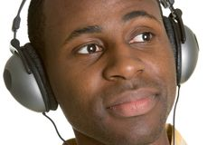 Headphones Man Stock Photos
