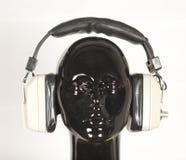 Headphones mannequin Stock Photo