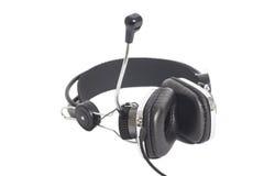 Headphones with Mic Stock Photography