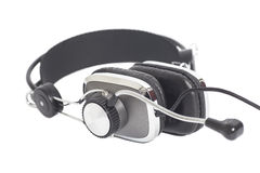 Headphones with Mic Stock Photography