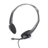 Headphones with mic Royalty Free Stock Photos
