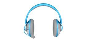 Headphones with microphone stock video