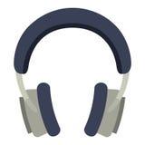 Headphones music isolated icon design Stock Photo