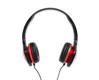 Headphones for music Royalty Free Stock Photography