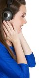 Headphones Person Stock Photo