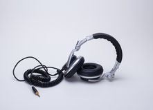 The headphones Royalty Free Stock Photos