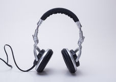 The headphones. Products for the headphones is indispensable to modern society, bring people happy spirit to enjoy, can easily enjoy music at any time Stock Photography