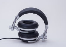 The headphones. Products for the headphones is indispensable to modern society, bring people happy spirit to enjoy, can easily enjoy music at any time Royalty Free Stock Photography